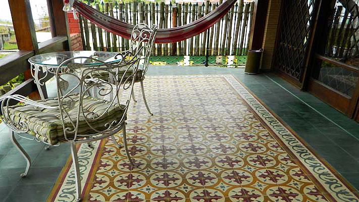 Poliqu mica limpeza profissional tratamento de pisos - Ladrillo hidraulico ...